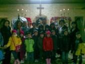 Elevi in vizita la biserica noastra